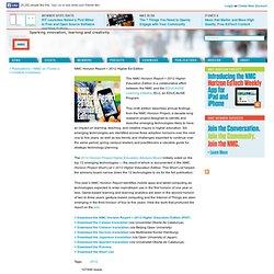 Horizon Report > 2012 Higher Ed Edition