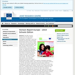 Horizon Report Europe - 2014 Schools Edition - JRC Science Hub