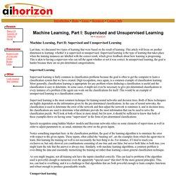 AI Horizon: Introduction to Machine Learning