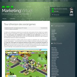 Tour d'horizon des social games | Marketing Virtuel