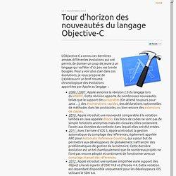 Tour d'horizon des nouveautés du langage Objective-C