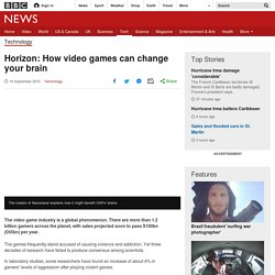 Horizon: How video games can change your brain - BBC News