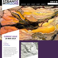Strange Horizons, a weekly speculative fiction magazine