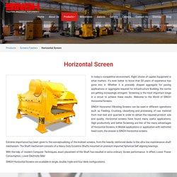 Horizontal screen for screening in Nashik