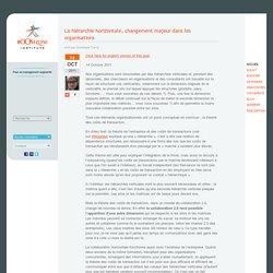 La hiérarchie horizontale, changement majeur dans les organisations