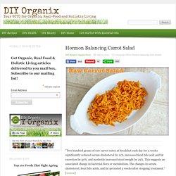 Hormon Balancing Carrot Salad