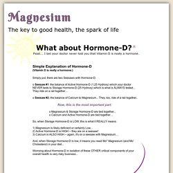 Hormone D