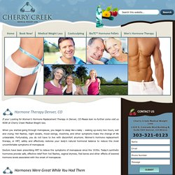 Denver Weight Loss : Colorado Weight Loss : Cherry Creek Medical Weight Loss :