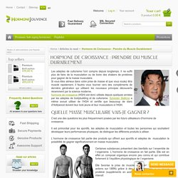 Growth Hormone : Much More Than a Fountain of Youth Hormone - Hormone Jouvence