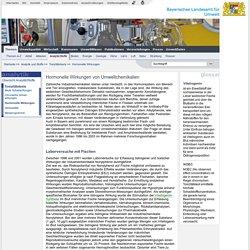 Hormonelle Wirkungen von Umweltchemikalien - LfU Bayern