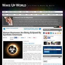 Synthetic Chemicals Eclipse Hormones