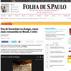 Uso de hormônio no frango, carne mais consumida no Brasil, é mito - 28/05/2014 - Comida