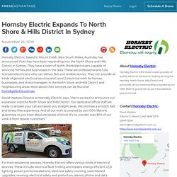 Hornsby Electric Expands To North Shore & Hills District In Sydney