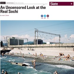 "Rob Hornstra photographs changes to Sochi, Russia, in the years leading up to the Olympic Games in ""The Sochi Project"" with Arnold van Bruggen."