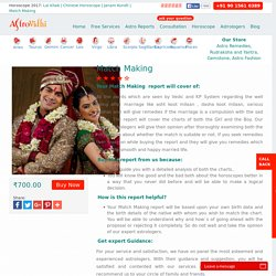 Kundali Milan, Horoscope Matching, Kundali Matching - Astrovidhi.com