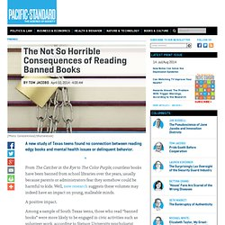 The Not So Horrible Consequences of Reading Banned Books