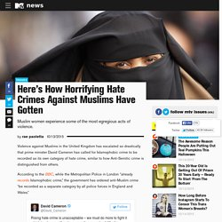 Here's How Horrifying Hate Crimes Against Muslims Have Gotten