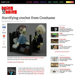 Horrifying crochet from Croshame