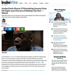 Get Out: Horror Story & Directing Lessons from Jordan Peele's Film