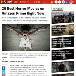 26 Best Horror Movies on Amazon Prime Right Now