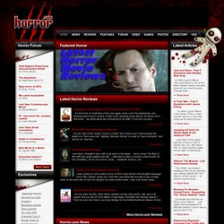 Horror.com - Horror movies, scary films, news & forums since 1994