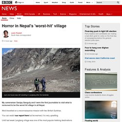 Horror in Nepal's 'worst-hit' village - BBC News