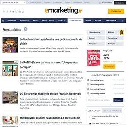 Communication et Campagnes de sponsoring / mécénat, les articles