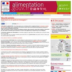 ALIMENTATION_GOUV_FR 10/02/14 Quel bilan un an après le Horsegate ?