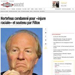 Hortefeux condamné pour «injure raciale»
