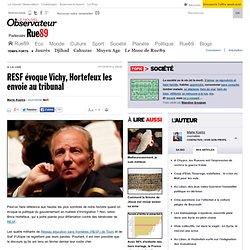 RESF évoque Vichy, Hortefeux les envoie au tribunal