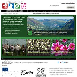 Horticulture Wales | Developing Supply Chains