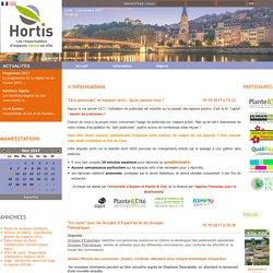 Hortis, les responsables d'espaces nature en ville