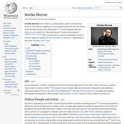 Srećko Horvat