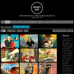 Peter Horvath: collage, editorial, photo illustration - Artists - Debut Art
