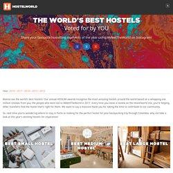 Hoscars 2018 - The Best Hostels in the World - Hostelworld