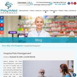 Hospice Pain Management