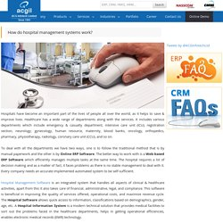 How do hospital management systems work?