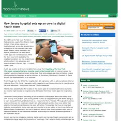 New Jersey hospital sets up an on-site digital health store