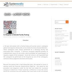 In-Hospital vs Outside Facilty Testing