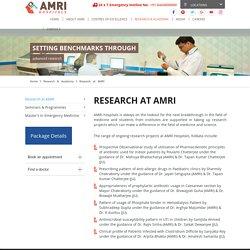 AMRI Hospital Kolkata