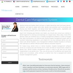 Dental Care Hospital Software