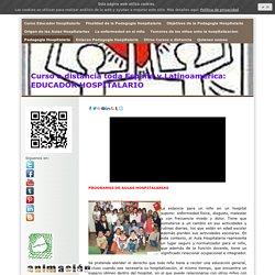 Pedagogia Hospitalaria - Curso Educador Hospitalario. Pedagogia Hospitalaria. Descuentos
