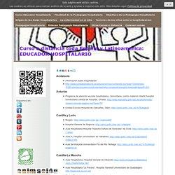 Enlaces Pedagogia Hospitalaria - Curso Educador Hospitalario. Pedagogia Hospitalaria. Descuentos
