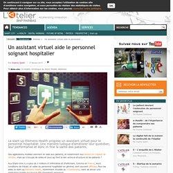 Un assistant virtuel aide le personnel soignant hospitalier