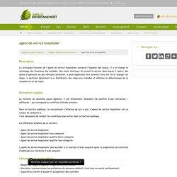 Agent de service hospitalier / Hygiène Propreté Environnement Sécurité