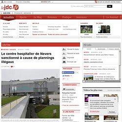 Le centre hospitalier de Nevers sanctionné à cause de plannings illégaux