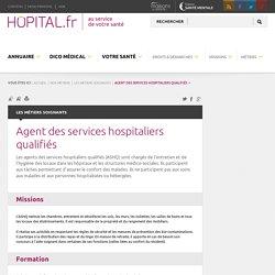 Agent des services hospitaliers qualifiés