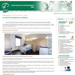 Les services d'hospitalisation en obstétrique - Centre hospitalier départemental (La Roche sur Yon - Luçon - Montaigu)