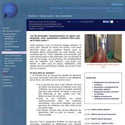 Obtenir la levée d'une mesure d'hospitalisation psychiatrique sans consentement à la demande d'un tiers (ASPDT ex HDT)
