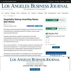 Hospitality Startup AvantStay Raises $20 Million - Sean Michael Malatesta - Medium